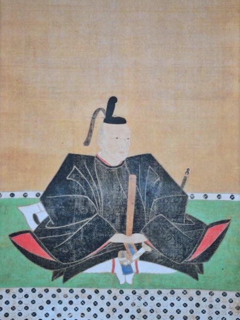 水野勝成肖像画(賢忠寺蔵)