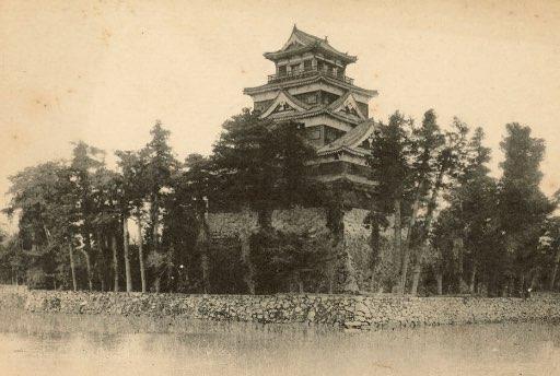 広島城 初代天守閣